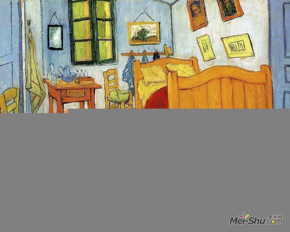 《阿尔勒的卧室》梵高高清艺术作品
