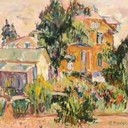 《黃色房子》亞伯拉罕·曼尼維奇(Abraham Manievich)高清作品欣賞