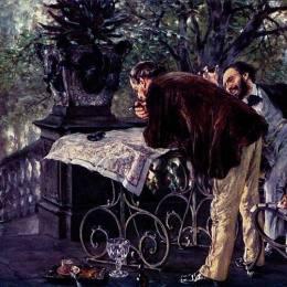 《旅行計劃》阿道夫·門采爾(Adolph Menzel)高清作品欣賞