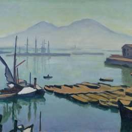 《那不勒斯灣》阿爾貝·馬爾凱(Albert Marquet)高清作品欣賞