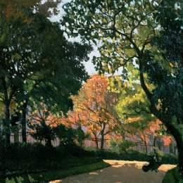 《盧森堡花園》阿爾貝·馬爾凱(Albert Marquet)高清作品欣賞