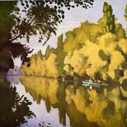 《河景》阿爾貝·馬爾凱(Albert Marquet)高清作品欣賞