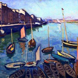 《勒阿弗爾港》阿爾貝·馬爾凱(Albert Marquet)高清作品欣賞