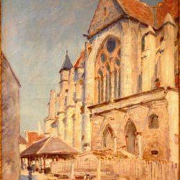 《埃莫里斯》阿爾弗萊德·西斯萊(Alfred Sisley)高清作品欣賞