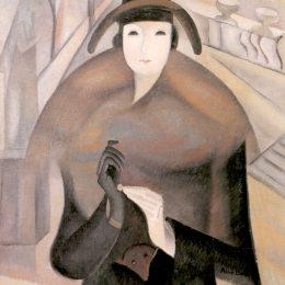 《盧森堡一個寒冷的早晨》愛麗絲貝利(Alice Bailly)高清作品欣賞