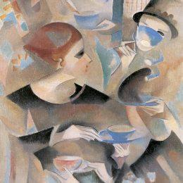 《茶時間》愛麗絲貝利(Alice Bailly)高清作品欣賞