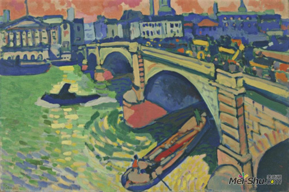 安德烈·德朗(Andre Derain)高清作品《伦敦大桥》