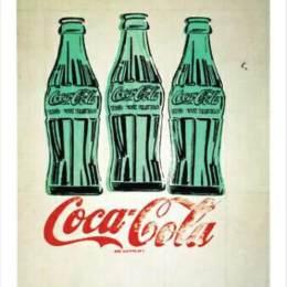 《3個可樂瓶》安迪·沃霍爾(Andy Warhol)高清作品欣賞