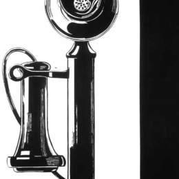 《電話》安迪·沃霍爾(Andy Warhol)高清作品欣賞