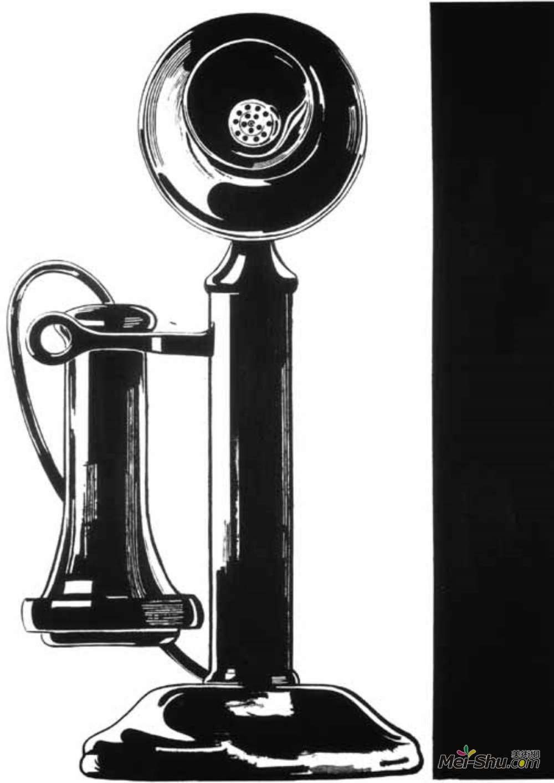 安迪·沃霍尔(Andy Warhol)高清作品《电话》