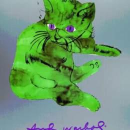 《一只叫山姆的貓》安迪·沃霍爾(Andy Warhol)高清作品欣賞