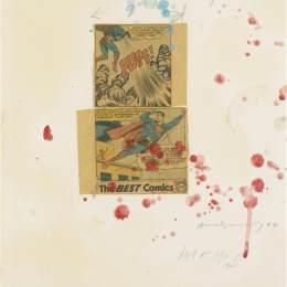 《無題(超人拼貼15)》安迪·沃霍爾(Andy Warhol)高清作品欣賞