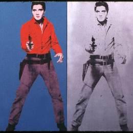 安迪·沃霍爾(Andy Warhol)高清作品:Elvis I &ampamp II