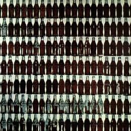 《綠色可口可樂瓶》安迪·沃霍爾(Andy Warhol)高清作品欣賞