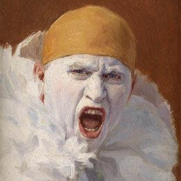 《自畫像》阿爾芒亨利昂(Armand Henrion)高清作品欣賞
