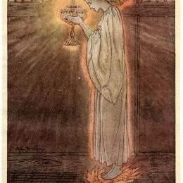 《圣杯載于》亞瑟·拉克姆(Arthur Rackham)高清作品欣賞