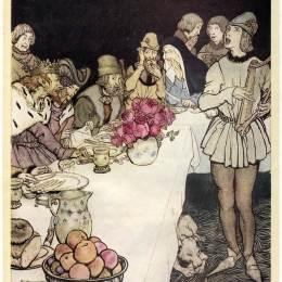 《特里斯坦》亞瑟·拉克姆(Arthur Rackham)高清作品欣賞