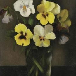 《花》亞瑟西格爾(Arthur Segal)高清作品欣賞