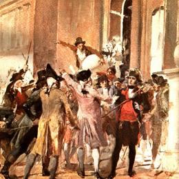 《克里奧爾人的叛亂》阿圖羅·米切萊納(Arturo Michelena)高清作品欣賞