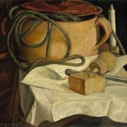 《靜物》鮑里斯·格里戈里耶夫(Boris Grigoriev)高清作品欣賞