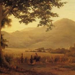 卡米耶·畢沙羅(Camille Pissarro)高清作品:Antilian Landscape, St. Thomas