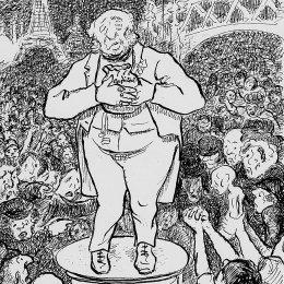 《富人與窮人的戰爭》卡米耶·畢沙羅(Camille Pissarro)高清作品欣賞