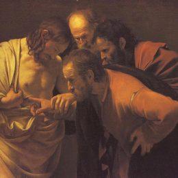 《圣托馬斯的不可思議》卡拉瓦喬(Caravaggio)高清作品欣賞