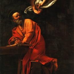 《圣馬太的啟示》卡拉瓦喬(Caravaggio)高清作品欣賞