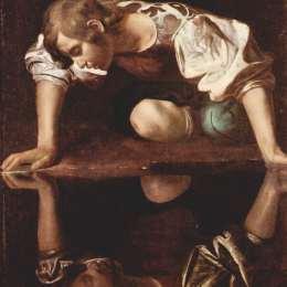 《水仙》卡拉瓦喬(Caravaggio)高清作品欣賞