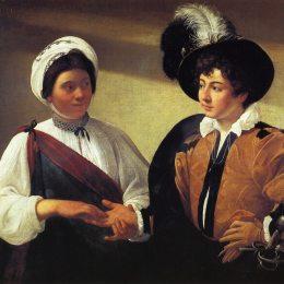 《算命先生》卡拉瓦喬(Caravaggio)高清作品欣賞