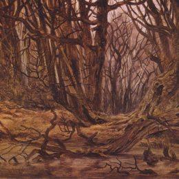 《秋天的福雷斯特》卡斯珀爾·大衛·弗里德里希(Caspar David Friedrich)高清作品欣賞