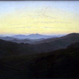 《黎森伯奇》卡斯珀爾·大衛·弗里德里希(Caspar David Friedrich)高清作品欣賞
