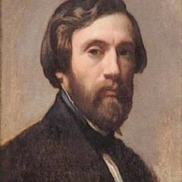 《自畫像》查爾斯·格萊爾(Charles Gleyre)高清作品欣賞