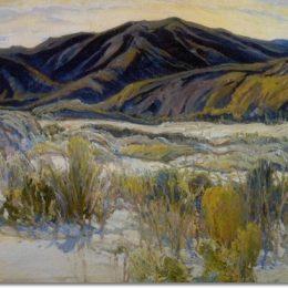 《在旗幟山谷里》查爾斯·賴費爾(Charles Reiffel)高清作品欣賞
