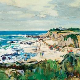 《拉荷亞海岸》查爾斯·賴費爾(Charles Reiffel)高清作品欣賞