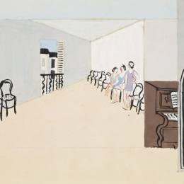 克里斯托弗·伍德(Christopher Wood)高清作品:Stage design for Diaghilevs ballet, Romeo and Julie