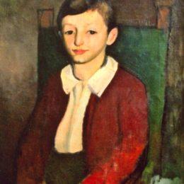 《兒童肖像》克爾納琉·巴巴(Corneliu Baba)高清作品欣賞