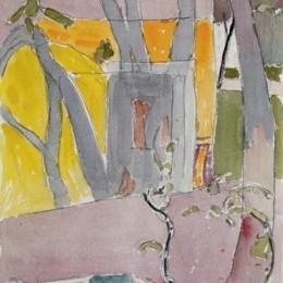 《園林觀》庫諾 · 阿米耶(Cuno Amiet)高清作品欣賞