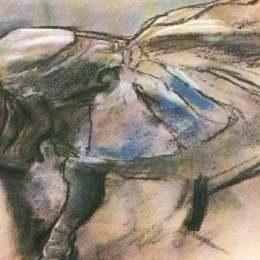 《巴雷利納》埃德加·德加(Edgar Degas)高清作品欣賞
