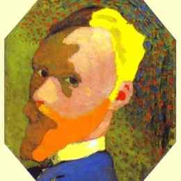 《自畫像》愛德華·維亞爾(Edouard Vuillard)高清作品欣賞