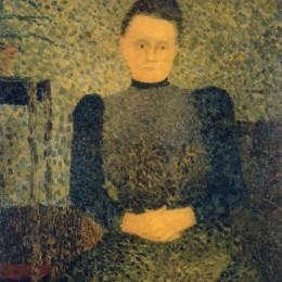 《瑪麗維亞爾的肖像》愛德華·維亞爾(Edouard Vuillard)高清作品欣賞