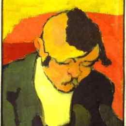 《讀者》愛德華·維亞爾(Edouard Vuillard)高清作品欣賞