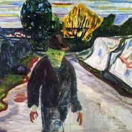 《殺人犯》愛德華·蒙克(Edvard Munch)高清作品欣賞