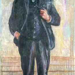 《托瓦爾德斯坦》愛德華·蒙克(Edvard Munch)高清作品欣賞