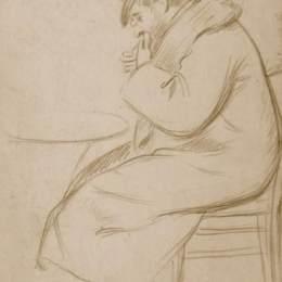 《坐人形象》費德里科·薩多梅內加(Federico Zandomeneghi)高清作品欣賞