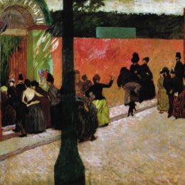 費德里科·薩多梅內加(Federico Zandomeneghi)高清作品:The Moulin de la Galette