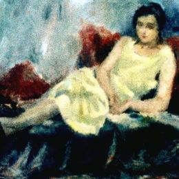 《坐著的女人》弗朗西斯科西拉托(Francisc Sirato)高清作品欣賞