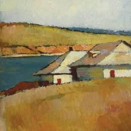 《塞爾尼卡湖岸邊的房子》弗朗西斯科西拉托(Francisc Sirato)高清作品欣賞