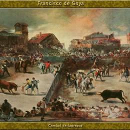 《斗?!犯ダ饰魉箍?middot;戈雅(Francisco Goya)高清作品欣賞