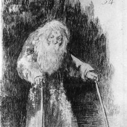 《我還在學習》弗朗西斯科·戈雅(Francisco Goya)高清作品欣賞